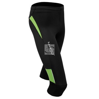 Капри NordSki Premium 3/4 Junior Black/Green
