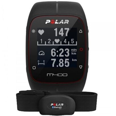 яPOLAR M400 HR BLACK
