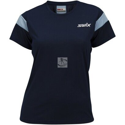 яФутболка Swix Motion Sport t-shirt жен. синий
