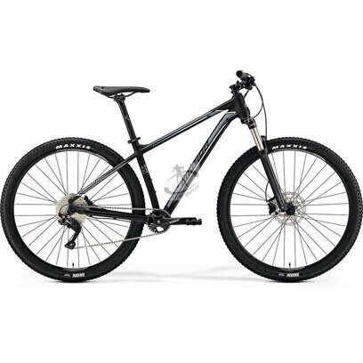 яГорный велосипед Merida Big Nine 400 Matt Black(Silver/White) 29""