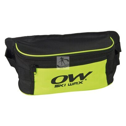 Подсумок One Way Waist Bag Ski Wax 90118 (чёр/жёл)